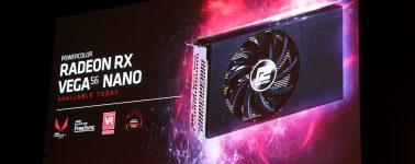 #Computex – AMD Radeon RX Vega 56 Nano anunciada, con gatillazo incluido