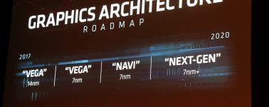 AMD Navi llegará como una GPU con núcleo monolítico al segmento gaming ¿MCM al profesional?
