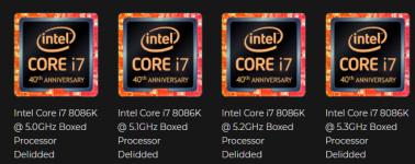 Ya ofrecen los Intel Core i7-8086K con delid y overclock garantizado, vete eligiendo riñón