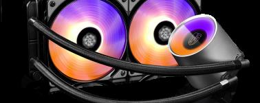 DeepCool lanza sus líquidas Castle 240RGB y Castle 280RGB