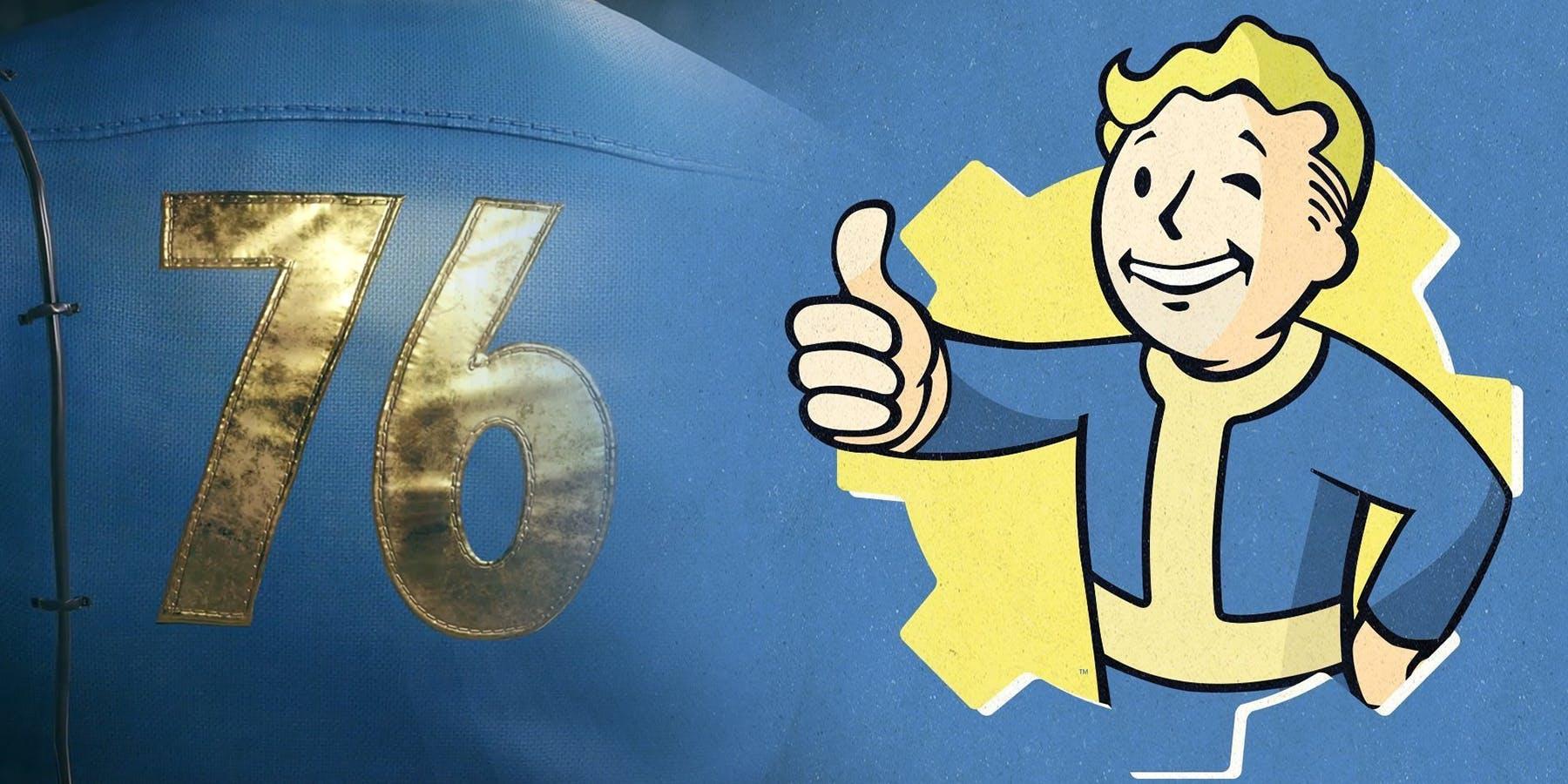 La beta de Fallout 76 disponible para descargar en Xbox One
