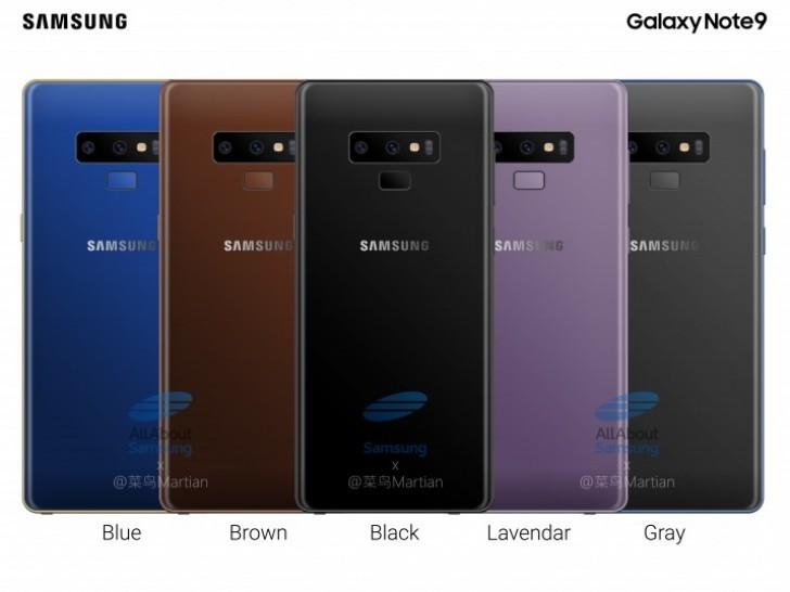 Galaxy Note9 diseño 1