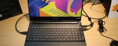 #Computex – Gigabyte AERO 15X: 15.6″ @ 144 Hz con un i7-8750H y una GeForce GTX 1070