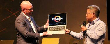 #Computex – Huawei MateBook D 14″: El primer portátil de Huawei con hardware de AMD