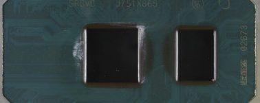 Así luce la primera CPU Intel Cannon Lake @ 10nm (Core i3-8121U)