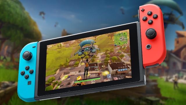 Nintendo Switch Fortnite 0