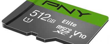 PNY Elite, una tarjeta microSD de Clase 10 con 512 GB de capacidad