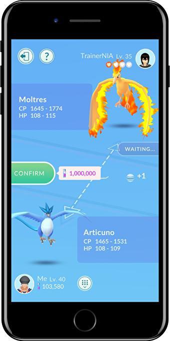 Pokémon GO intercambios 2 2
