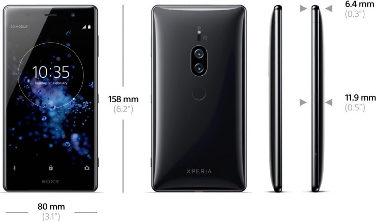 Sony Xperia XZ2 Premium 740x437 2