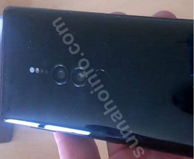 Sony Xperia XZ3 filtracion 3 2