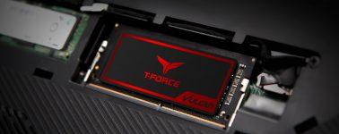 Team Group lanza sus memorias gaming SO-DIMM T-Force Vulcan con disipador de grafeno y cobre