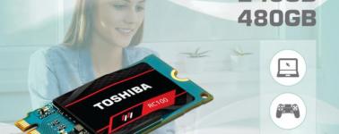 Toshiba lanza sus SSD RC100 y TR200 para usuarios con presupuestos ajustados
