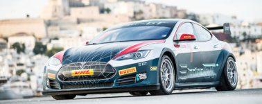 El primer Tesla Model S P100D de carreras es entregado para competir en la Electric GT