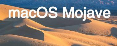Apple anuncia el nuevo macOS Mojave con un Modo Oscuro y centrado en la privacidad