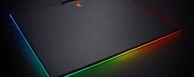 Aorus P7 RGB, Gigabyte ya tiene su propia alfombrilla con iluminación RGB