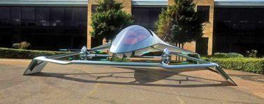 Aston Martin presenta a Volante Vision, su lujoso taxi volador
