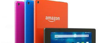 Amazon rebaja el precio de sus tablets: Fire 7 a 29€ y la Fire HD 8 a 49.99€