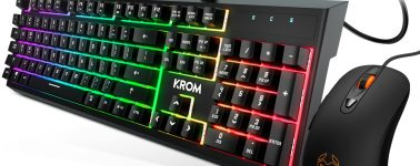 Krom Kaleido: Pack de teclado mecamembranoso RGB y ratón por 49.90 euros