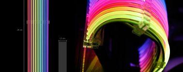 El cable RGB ATX de 24 pines de Lian Li sale a la venta, y no es precisamente barato