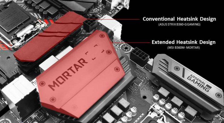 MSI se burla de Asus, ahorrando costes en el disipador del VRM y conectividad 1