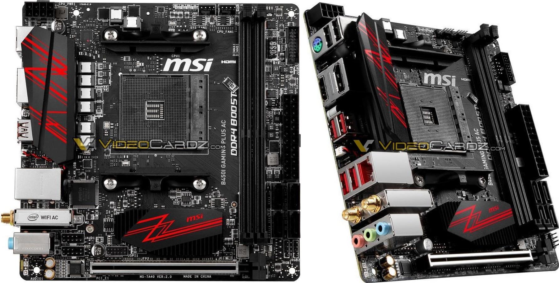 MSI B450 Gaming Pro Carbon AC, B450/M/I Gaming Plus, B450M