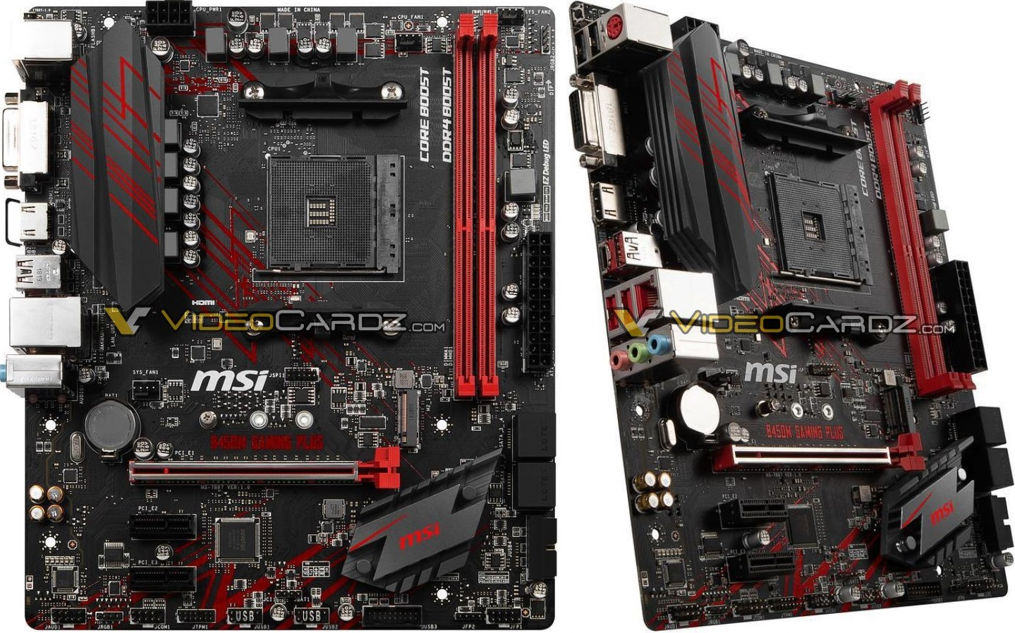MSI B450 Gaming Pro Carbon AC, B450/M/I Gaming Plus, B450M Bazooka y