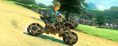 Mario Kart 8 Deluxe se actualiza con nuevos contenidos de Zelda: Breath of the Wild