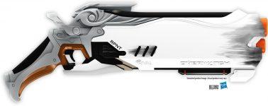 Overwatch tendrá su primer arma de juguete gracias al fabricante Nerf
