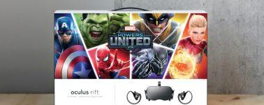 Las Oculus Rift llegarán en un bundle con el Marvel Powers United VR