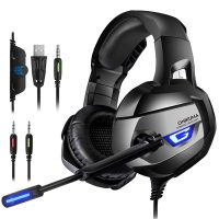 Onikuma K5: Auriculares gaming con iluminación LED y audio 7.1 virtual por 24 euros
