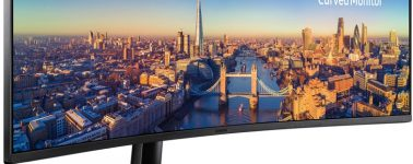 Samsung C49J89: Monitor ultrapanorámico con panel VA de 49″ DFHD @ 144 Hz