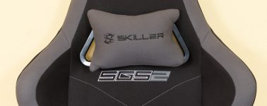 Review: Sharkoon Skiller SGS2 (Silla gaming textil)