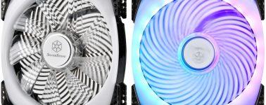 SilverStone AP142-ARGB y AP124-ARGB: Ventiladores con iluminación RGB direccionable