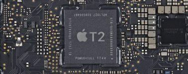 Apple confirma que el chip T2 de sus ordenadores bloqueará las reparaciones de terceros