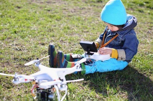 drones niños 0