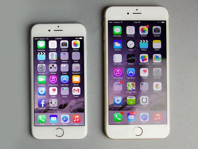 iPhone 6 vs iPhone 6 Plus 0