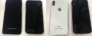 El iPhone X (2018), iPhone SE Plus y iPhone 9 Plus nos muestran su diseño