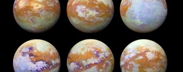 La NASA publica nuevas imágenes de Titán, la mayor luna de Saturno