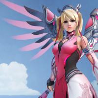 Overwatch recauda $12,7M para la investigación del cáncer de mama con la skin Mercy Rosa
