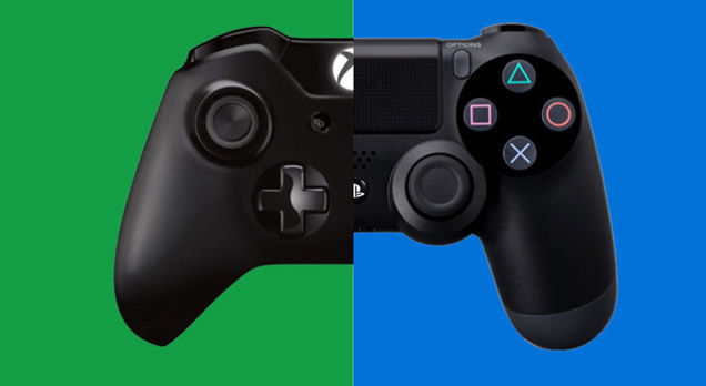 mandos Xbox One vs PlayStation 4