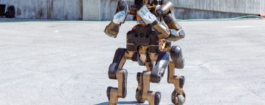 'Centauro', un nuevo robot de respuesta en casos de desastre con la forma de un caballo
