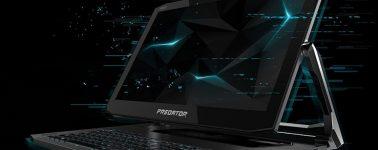 Acer Predator Triton 900: El primer portátil gaming con pantalla rotable