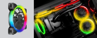 Cougar Vortex RGB HPB 120: Ventilador con un halo RGB direccionable