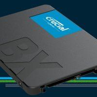 Crucial BX500: Nueva familia de SSDs de bajo coste