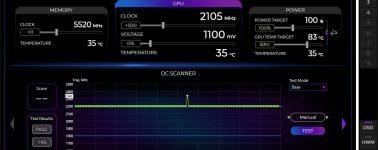 Nvidia lanza la tecnología OC Scanner en las gráficas Pascal (GeForce GTX 1000 Series)