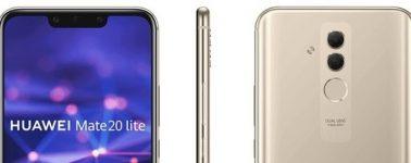 El Huawei Mate 20 Lite posa en forma de render, llegará con Notch