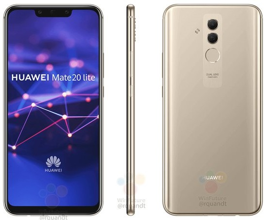 Huawei Mate 20 Lite Render 0