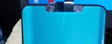 El Huawei Mate 20 posa ante la cámara: notch y reconocimiento facial 3D