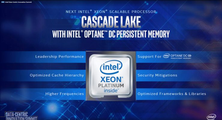 Intel Xeon Cascade Lake SP 1 740x403 0