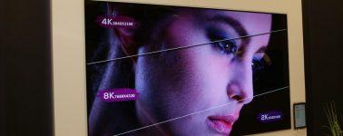 LG muestra su televisor OLED 8K, pero también un Micro-LED de 173 pulgadas